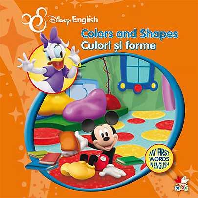 CULORI SI FORME. MY FIRST WORDS IN ENGLISH