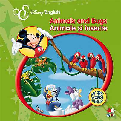 ANIMALE SI INSECTE. MY FIRST WORDS IN ENGLISH
