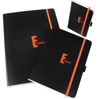 Caiet cu elastic Elegance,A4,80file,mate