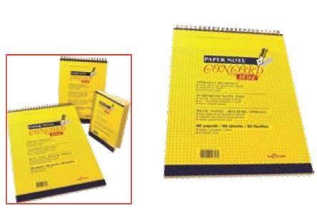 Blocnotes spira Concord,A4,80file,dict