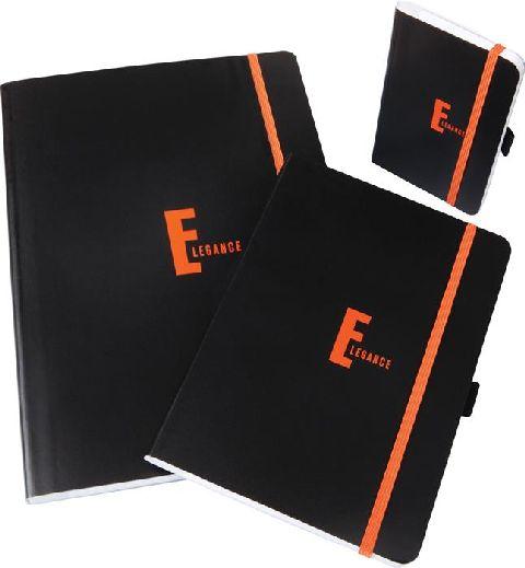 Caiet cu elastic Elegance,A5,80file,dict