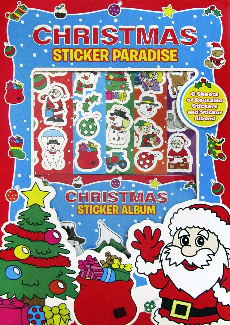 STICKER PARADISE DE CRACIUN