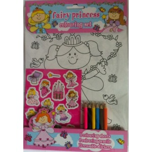 SET DE COLORAT FAIRY PRINCESS