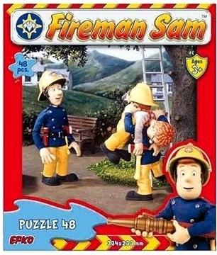 Puzzle 48 piese Pompierul Sam