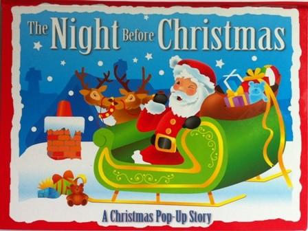CARTE POVESTITA IN LB ENGLEZA - THE NIGHT BEFORE CHRISTMAS