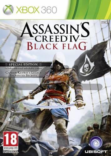 AC44 BLACK FLAG D1 EDITION - XBOX360