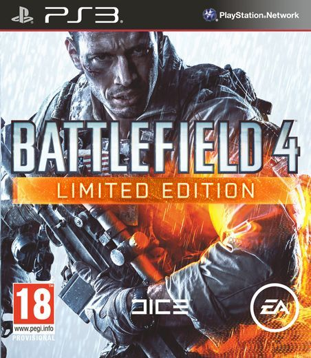 BATTLEFIELD 4 LIMITED EDITION - PS3