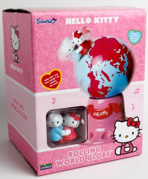 Jucarie Globul lumii Hello Kitty