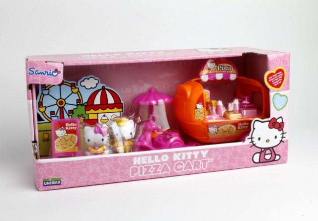 Pizzerie pe roti Hello Kitty