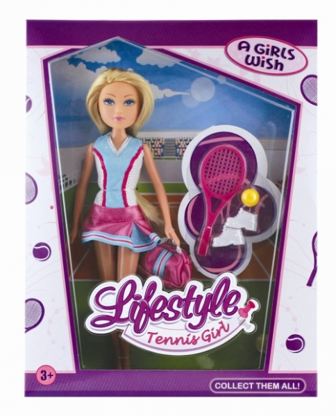 Papusa tenisman 29cm, Life style