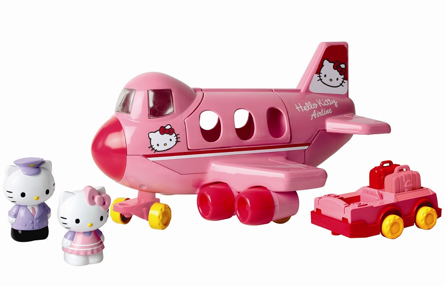 Set avion Hello Kitty