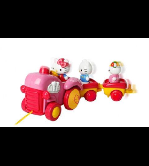 Set tractor Hello kitty