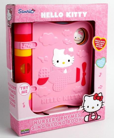 Carte muzicala Hello Kitty