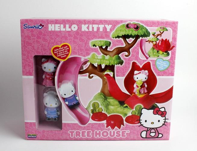 Casa din copac Hello Kitty
