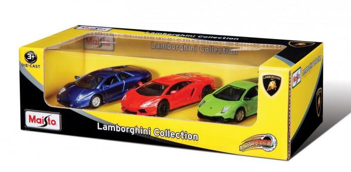Set 3 masinute Lamborghini