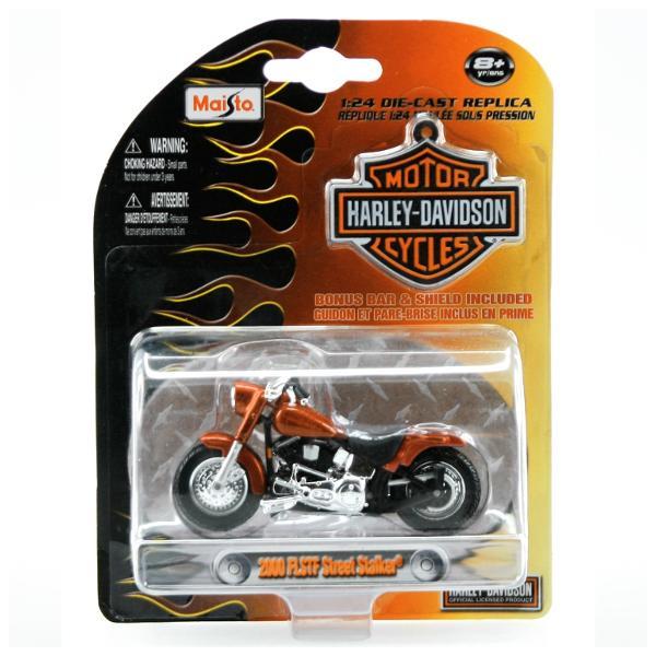 Motocicleta Harley Davidson 1:24