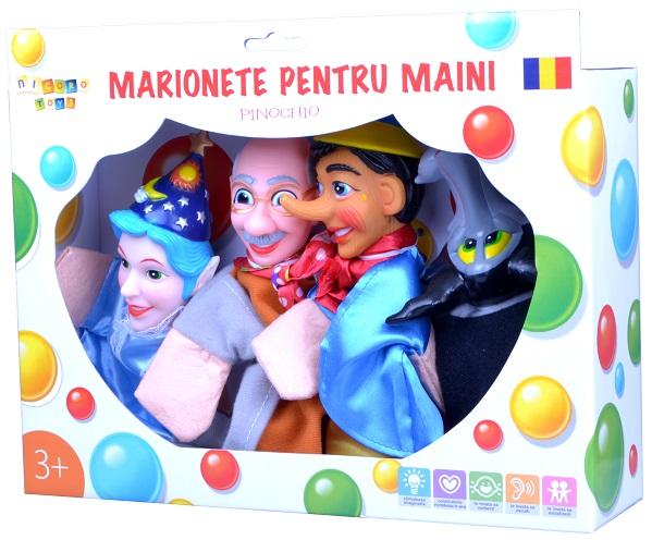 Set marionete pentru maini
