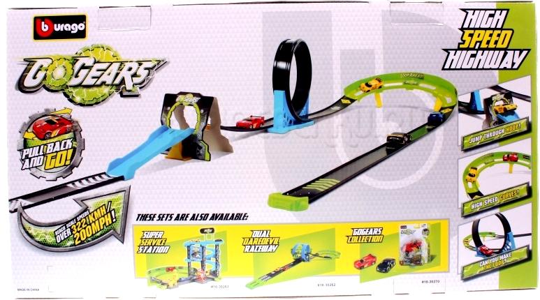 Circuit Go Gear include masinuta