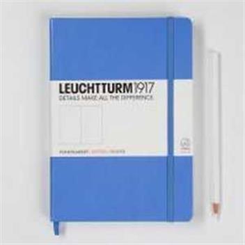 Caiet Leuchtturm A5,249f,velin,albastru