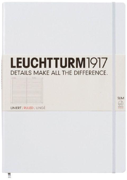 Caiet Leuchtturm A4,121f,dict,alb