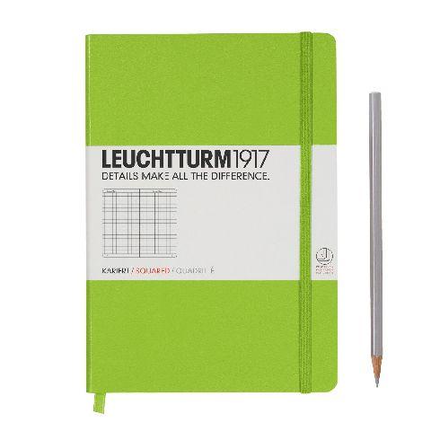 Caiet Leuchtturm A5,249f,mate,verde lime