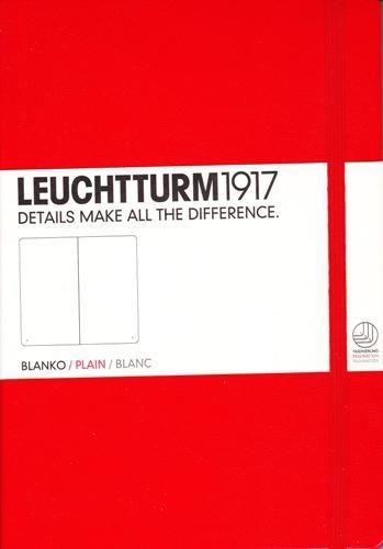 Caiet Leuchtturm A5,249f,velin,rosu