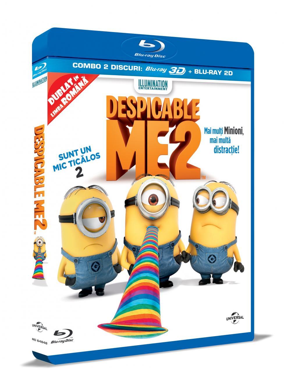 DESPICABLE ME 2 3D/2D