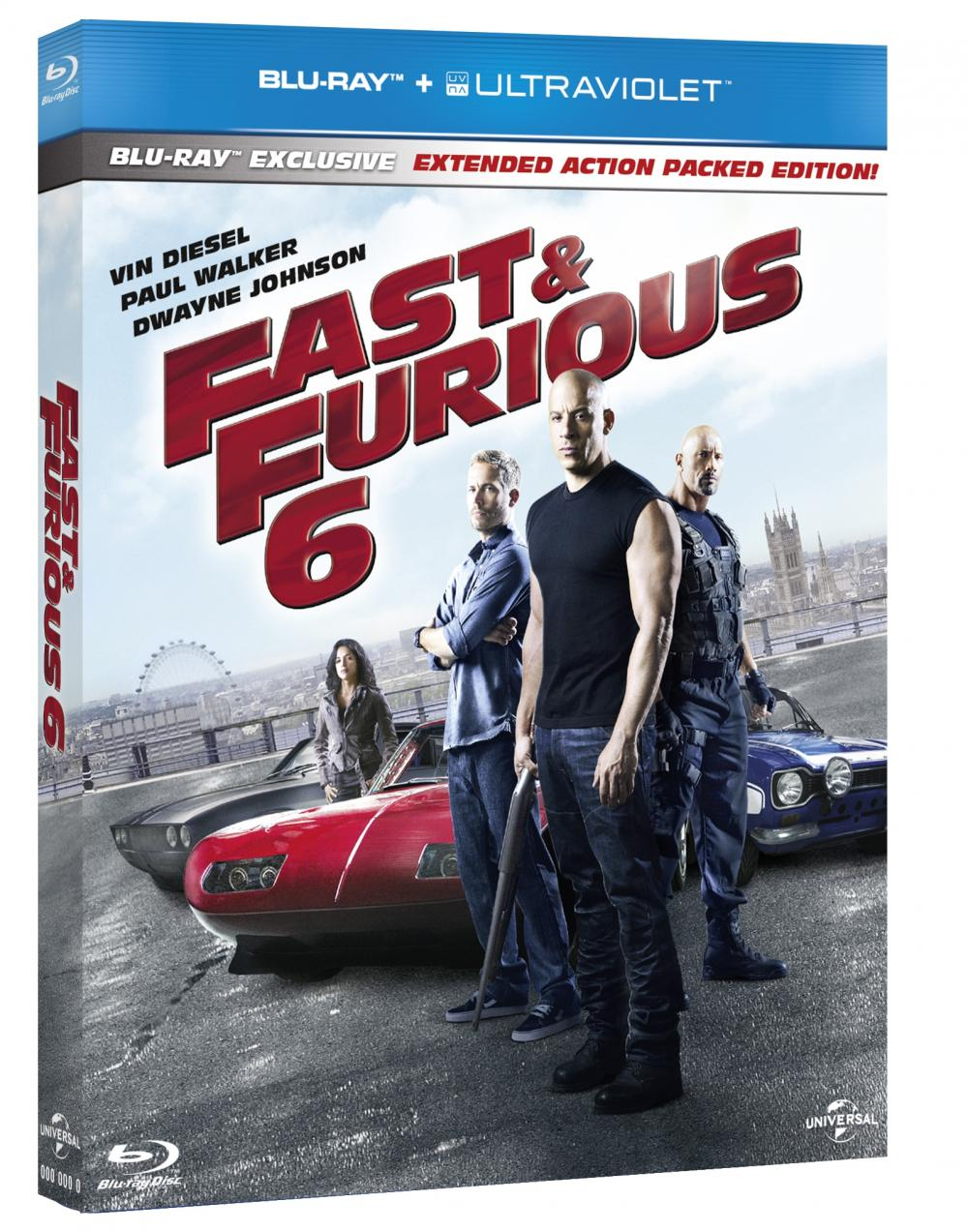 FAST & FURIOUS 6 BR