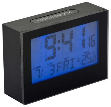 Ceas de birou negru,23646