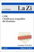 COD CLASIFICAREA OCUPATIILOR DIN ROMANIA LA ZI COD 521 ACTUALIZARE 15.10.2013