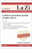 CODUL DE PROCEDURA PENALA SI LEGILE CONEXE LA ZI COD 522 ACTUALIZARE 20.10.2013