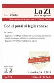 CODUL PENAL SI LEGILE CONEXE LA ZI COD 523 ACTUALIZARE 20.10.2013