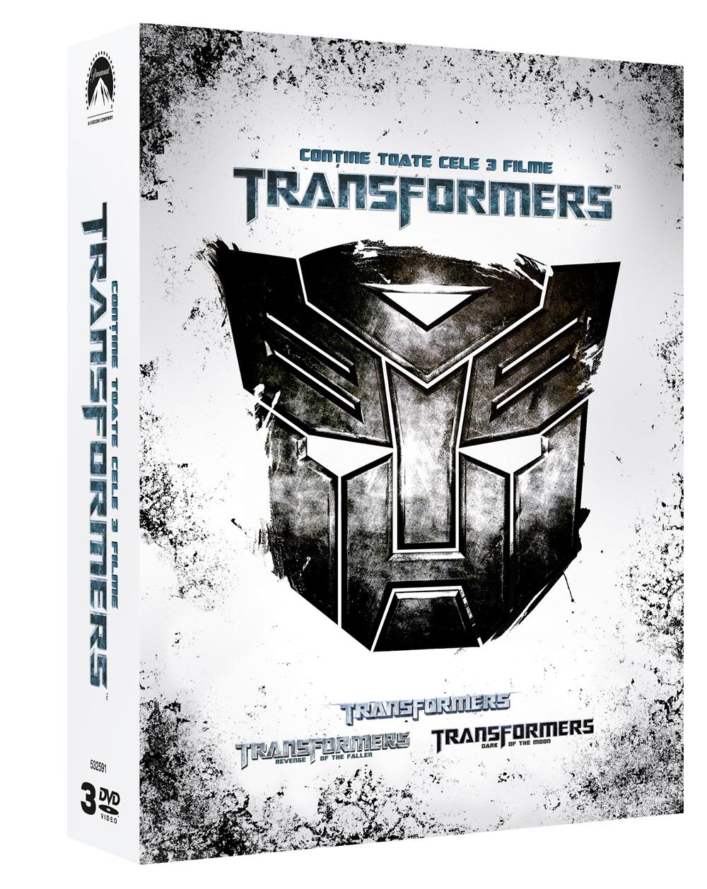 TRANSFORMERS (Box Set 3 Discs)
