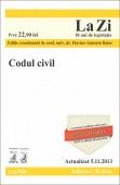 CODUL CIVIL LA ZI COD 526 ACTUALIZARE 05.11.2013