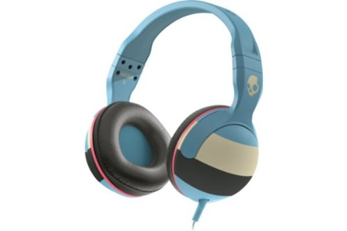 Casti Skullcandy Hesh Surf Stripe/Blue/Cream