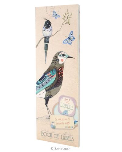 Etichete,152/set,Pretty Birds
