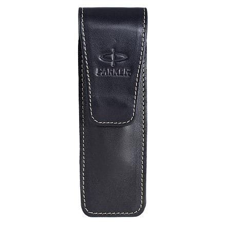 Portofel Parker,piele,10x11.5x1.5cm,negru