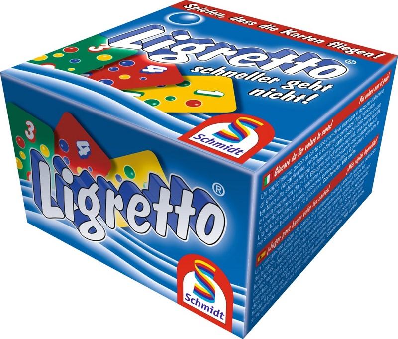 Joc de carti Ligretto, blue