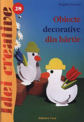 OBIECTE DECORATIVE DIN HARTIE EDITIA 2 - IDEI CREATIVE 28