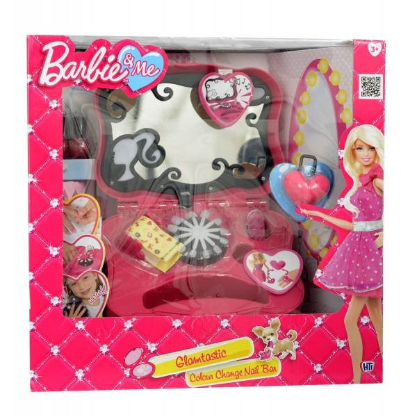 Set joaca trusa manichiura Barbie