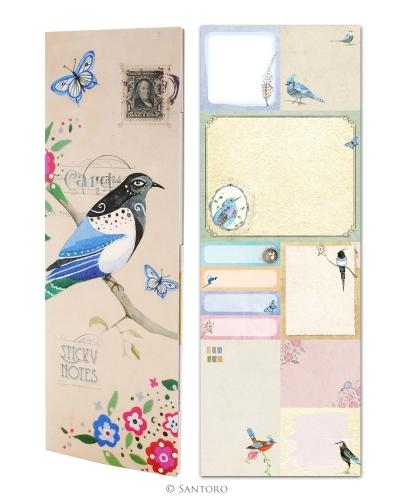 Notes slim,Pretty Birds