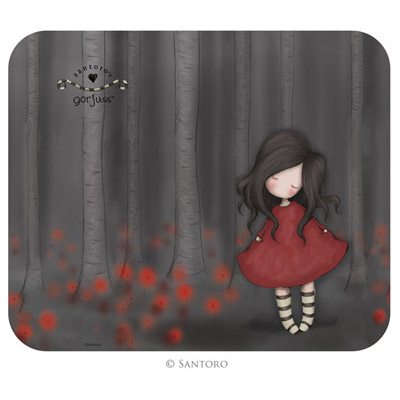 Mouse pad,Poppy Wood