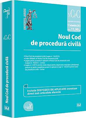NOUL COD DE PROCEDURA CIVILA. ACTUALIZAT 17 OCTOMBRIE 2013