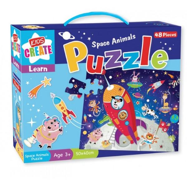 Puzzle Animale spatiale