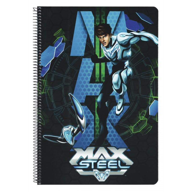 Caiet spira A4,80file,Max Steel
