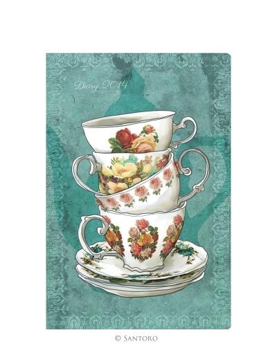 Agenda 2014,de buzunar,Teacups
