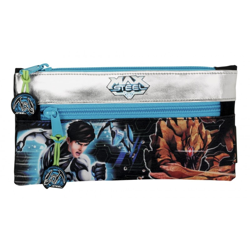 Pouch 22x11cm,Max Steel