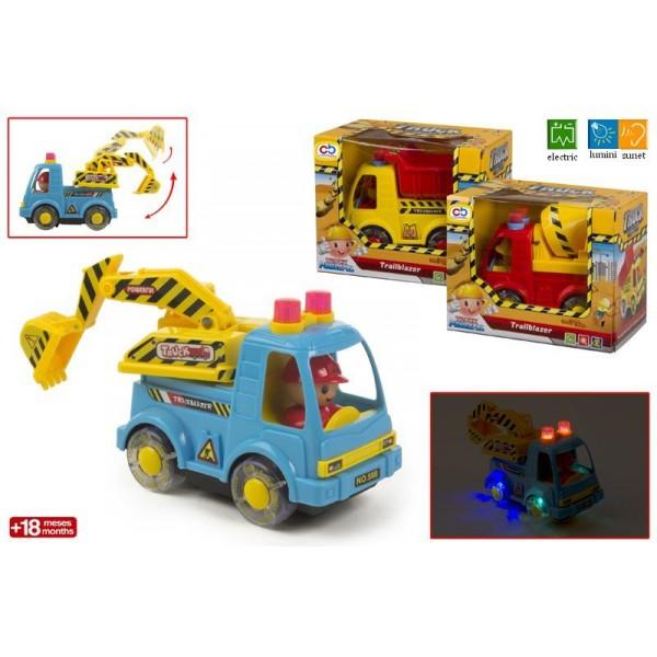 Camion constructii cu sunet si lumini