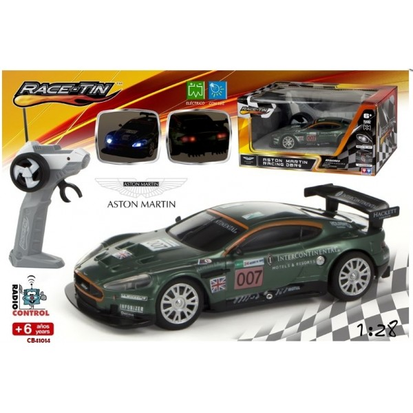 Masina Aston Martin DB9 Racing RC 1:28