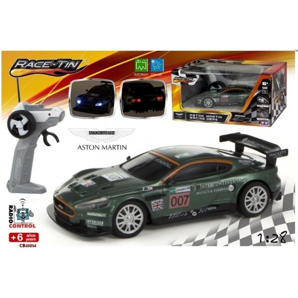 Masina Aston Martin DB9 Racing RC 1:28